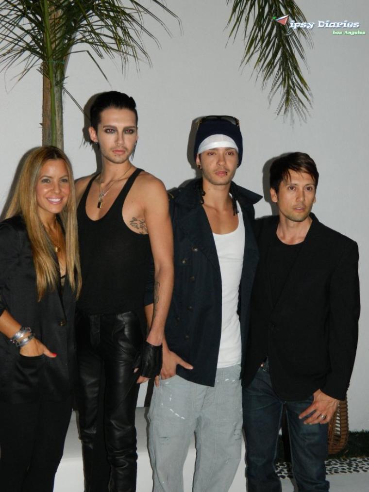 Shay Todd, Bill & Tom Kaulitz, Shiro Gutzie