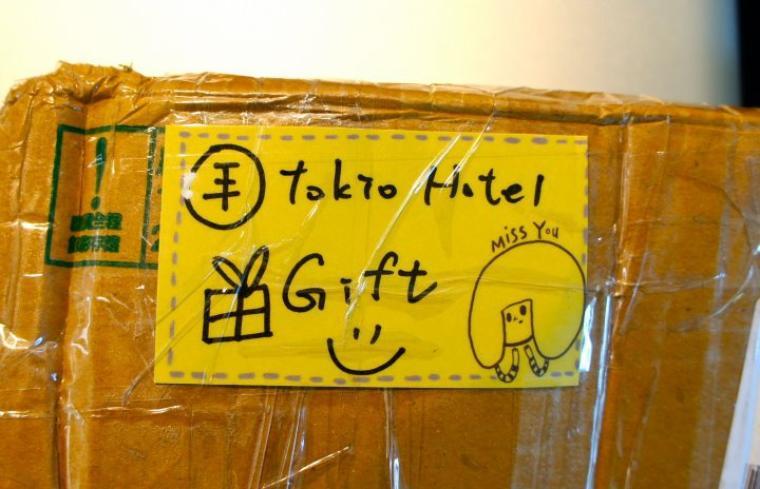 Le groupe a reçu «un cadeau d'amour» des fans Japonaises :D