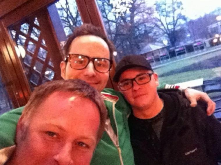 Gustav et Kurt Krömer à Magdeburg, en Allemagne (5.03.12)