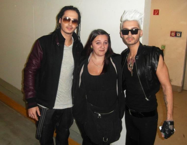 Bill et Tom avec des fans à Berlin - 03.10.12