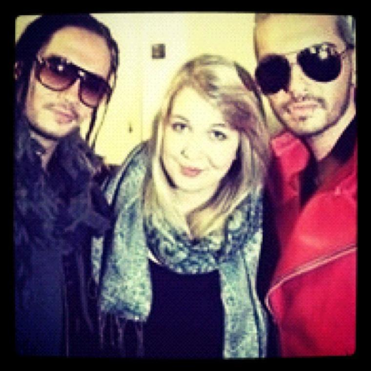Avec des fans à Berlin - 4 Octobre 2012