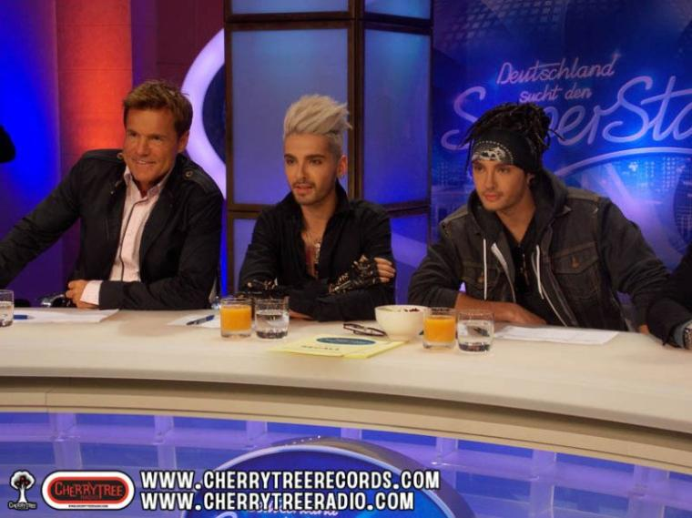 Bill et Tom à DSDS - Photos @CherrytreeRecords.com