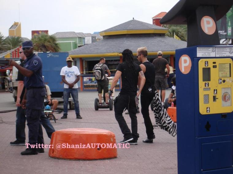 Bill et Tom à Willemstad, à Curaçao (12.11.12)