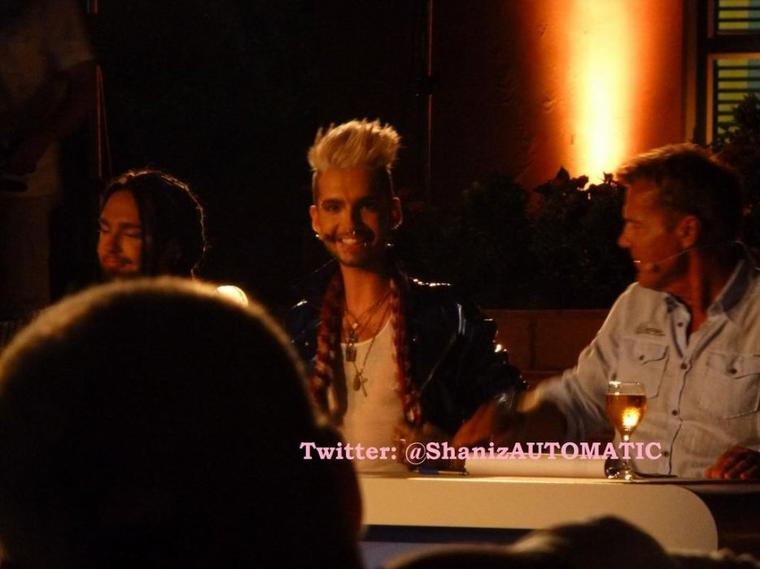 Bill et Tom à Willemstad, à Curaçao (7.11.12)