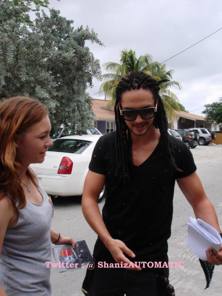 Bill et Tom à Willemstad, Curaçao