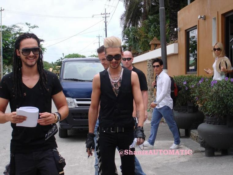 Bill & Tom @ DSDS 2013 - Backstage @ Recall in Willemstad, Curaçao 12.11.2012