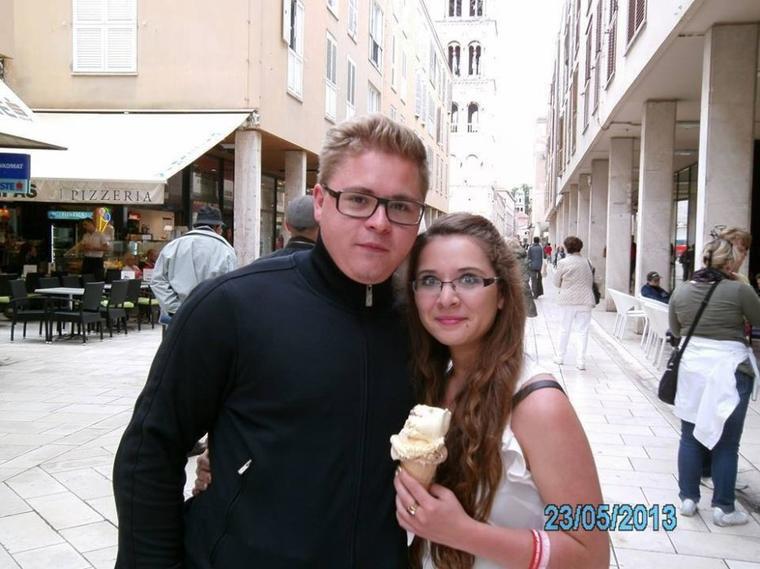 23.05.2013 - Gustav avec une fan à Zadar (Croatie)