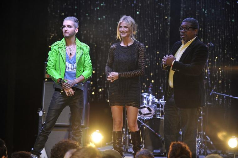 "10.02.2012 - Bill dans ""Germany's Next Topmodel"" à Los Angeles"