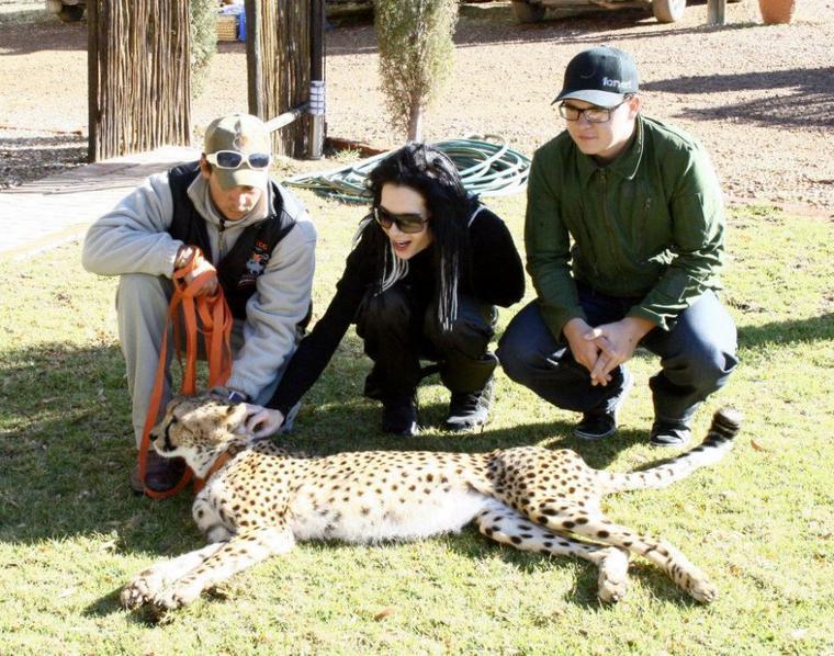 """Tokio Hotel au """"Inverdoorn Game Reserve & Iziba Safari Lodge"""", en Afrique du Sud (2009)"""