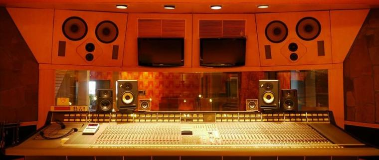 Le studio de Tokio Hotel à Hambourg :)