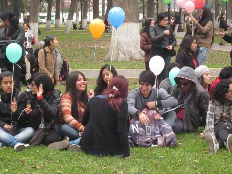 Rassemblement - 8e anniversaire de TH (Pérou)
