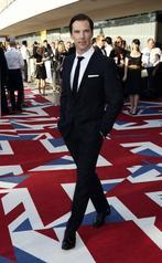 Cumberbatch walking for Spencer Hart