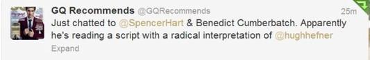 Rumeur de nouveau rôle pour Benedict
