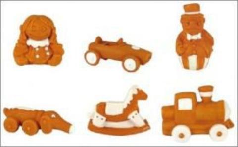 Les jouets de mon enfance - La Fournée Dorée - Fèves - 2014