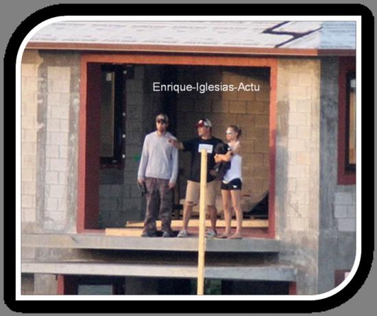 Jeudi 17 Novembre, Enrique & Anna sont allés visiter leur Maison sur une île privée de Miami