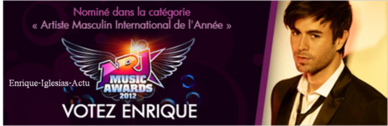 Nrj Music Arwards 2012