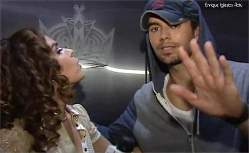 Enrique en interview pour Estrella TV (20 août 2012)