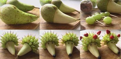 Animaux en fruits