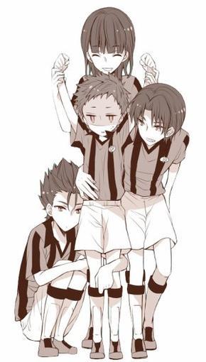L'équipe des Momoyama Prédator + technique + Match
