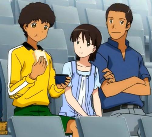 Ginga e kickoff!! Personnage : Famille Sugiyama