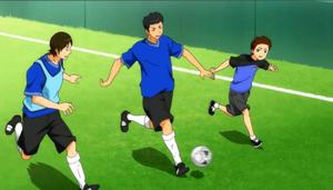 Ginga e kickoff!! Les matchs amicaux