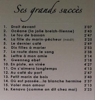 "CD best-of Gérard Jaffrès ""Ses grands Succès"""
