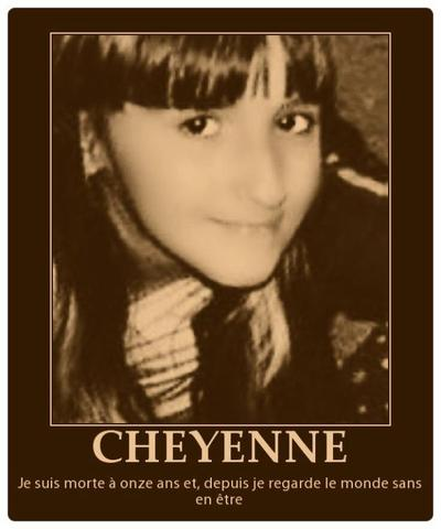 "Ma fille d'Amour "" CHEYENNE 1995 - 2007 """