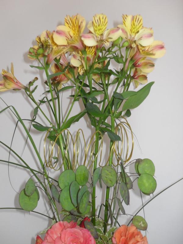 un bouquet à 3 niveaux