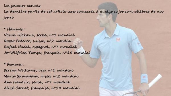 Un jour...un sport - Le Tennis