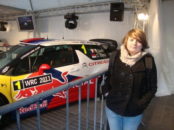 au RDN avec la ds3 WRC de Sébastien Loeb - Daniel Elena