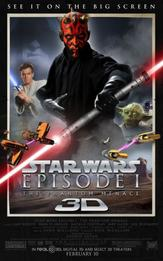 Star Wars Episode 1 en 3D!!!