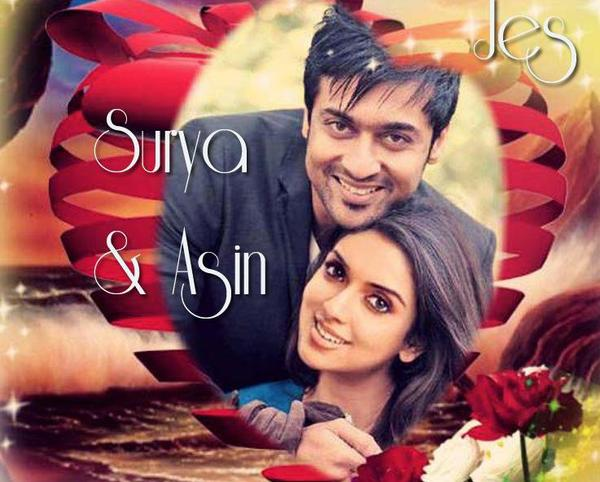 Surya and Asin :)