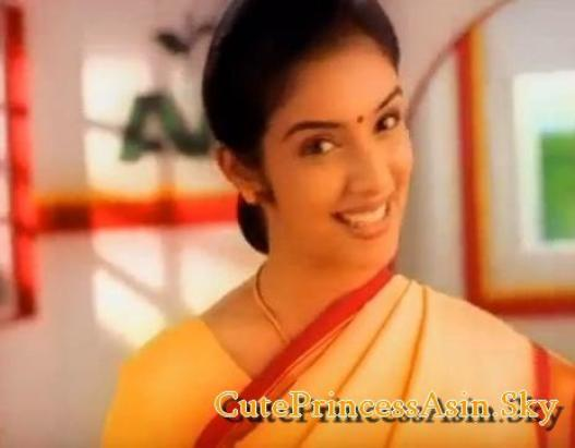 Asin's First Ad : AVT Tea