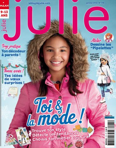 Le magasine Julie-Milan presse