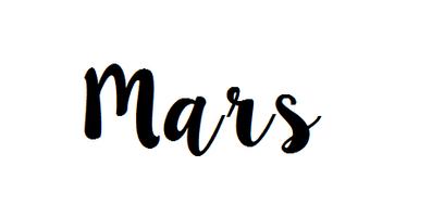[Bilan n°3] Mars 2016