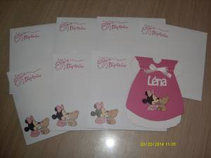 faire part minnie