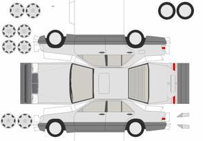 Mercedes-Benz maquettes