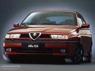 Alfa Romeo 155 maquette (by me)