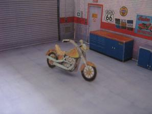 Maquettes Harley-Davidson
