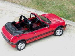 Peugeot 205 Cabriolet maquette (by me)
