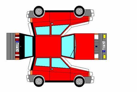 Lancia / Autobianchi Y10 maquette