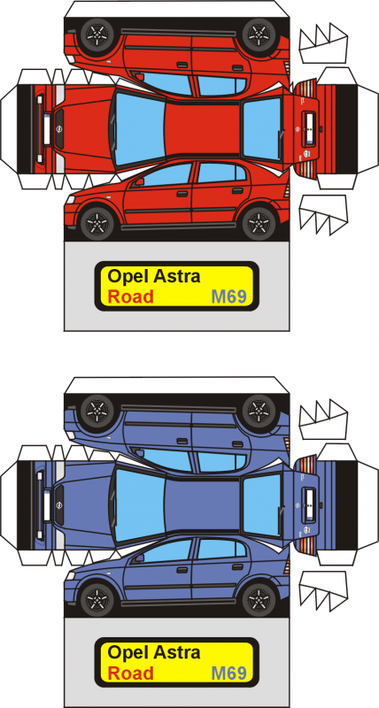 Opel Astra maquette