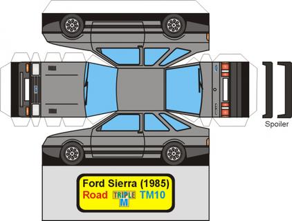 Ford Sierra maquette