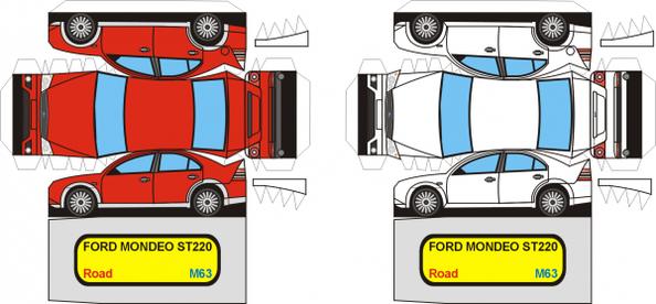 Ford Mondeo maquette