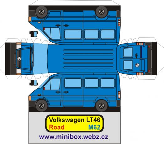 Volkswagen LT46 maquette