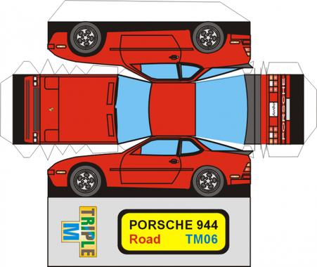 Porsche 944 maquette