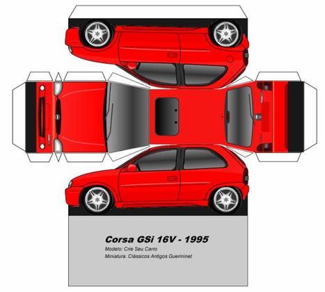 Opel / Chevrolet Corsa maquette