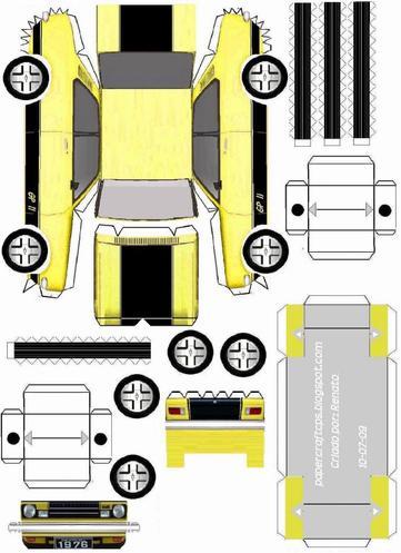 Chevrolet Chevette 1976 maquette