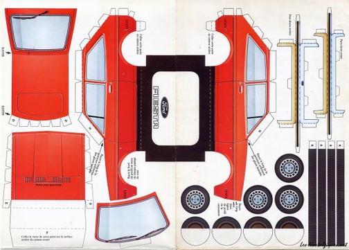 Ford Fiesta 1 maquette