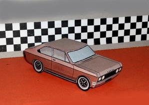 Dodge 1800 maquette